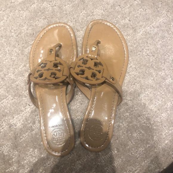 Tory Burch Shoes - tan tory burch millers